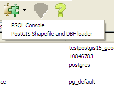 PgAdmin III Plug-in Registration: PostGIS Shapefile and DBF Loader