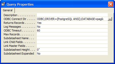 Using MS Access with PostgreSQL - Postgres OnLine Journal